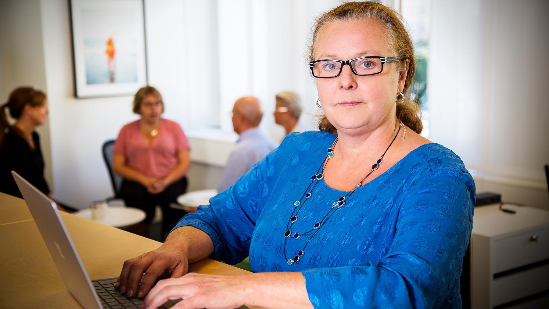 Anki Udd är ledarskapsexpert på fackförbundet Ledarna.