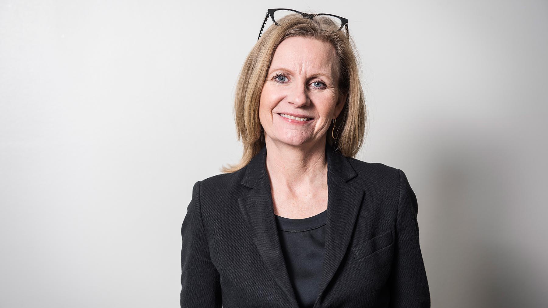 Microsoft Swedens vd Hélène Barnekow.