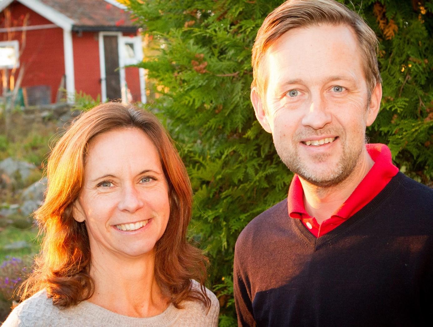Catrin Brodin och Johan Victor